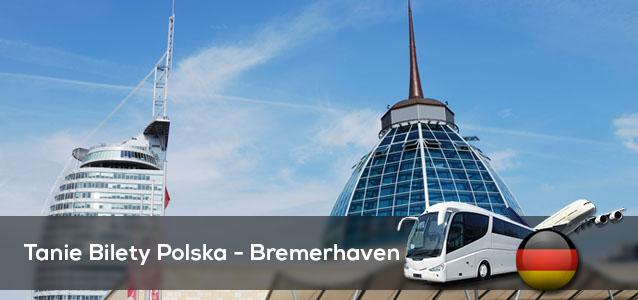 Tanie Bilety Polska - Bremerhaven