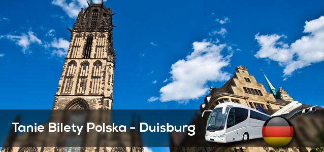 Tanie Bilety Polska - Duisburg