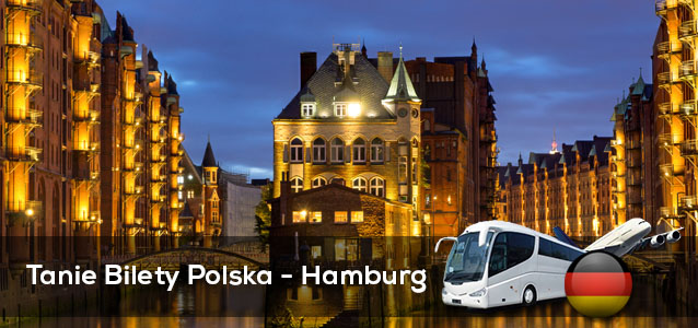 Tanie Bilety Polska - Hamburg