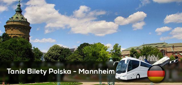 Tanie Bilety Polska - Mannheim